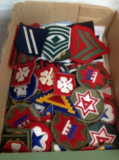 Military Patches- WW II